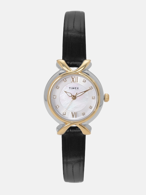 Timex Women Silver-Toned Analogue Watch TW0TL9402