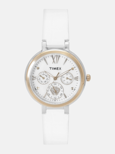 Timex Women White Analogue Watch TW0EL17HH