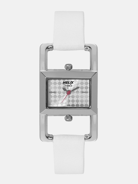 Helix By Timex Women Silver-Toned Analogue Watch TW030HL00