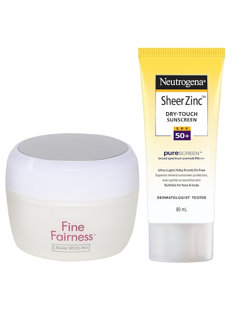 Neutrogena SPF 20 Fine Fairness Cream & Sunscreen