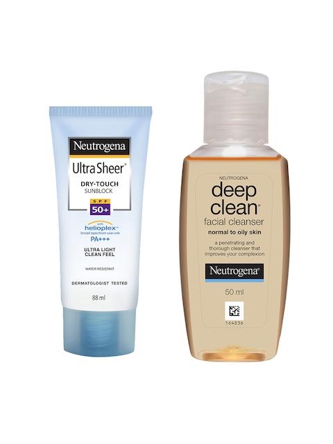 Neutrogena Set of Facial Cleanser & Sunscreen