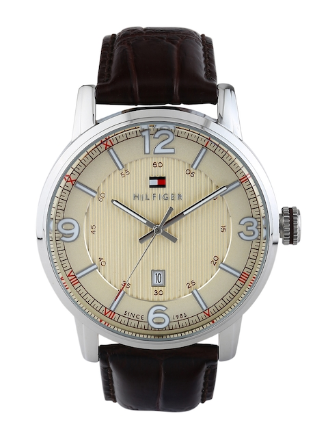 Tommy Hilfiger Men Beige Dial Watch TH1710343J