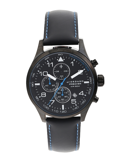 GIORDANO Premier Men Chronograph Black Dial Watch P168-02