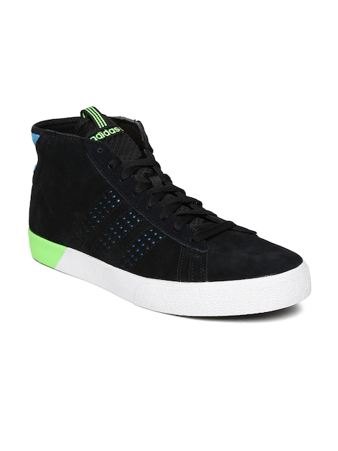 Adidas NEO Men Black Daily Ultra Suede Casual Shoes