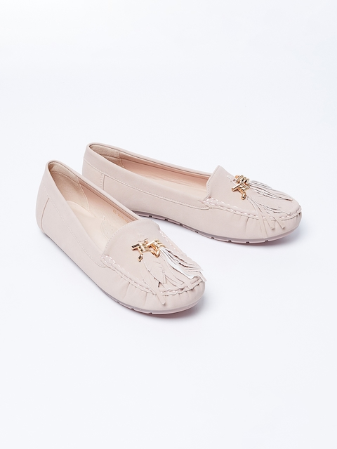 Ginger by Lifestyle Women Pink Loafers