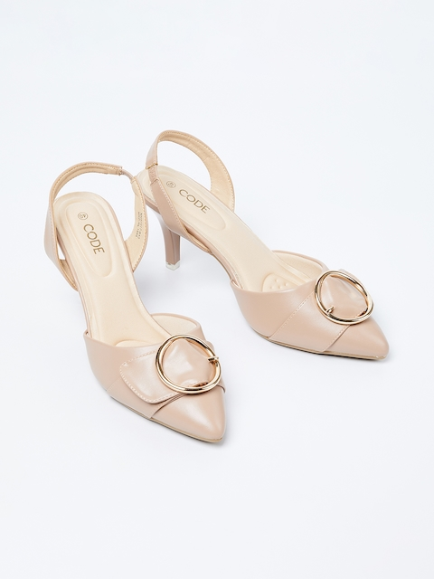 CODE by Lifestyle Women Pink Solid Pumps