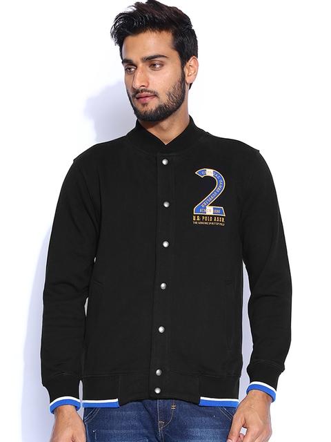 U.S. Polo Assn. Black Sweatshirt