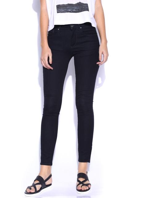 Lee Dark Blue LOM-Jegging Ankle Super Skinny Fit Jeans