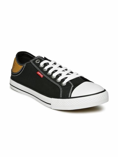 Levis Men Black Casual Shoes