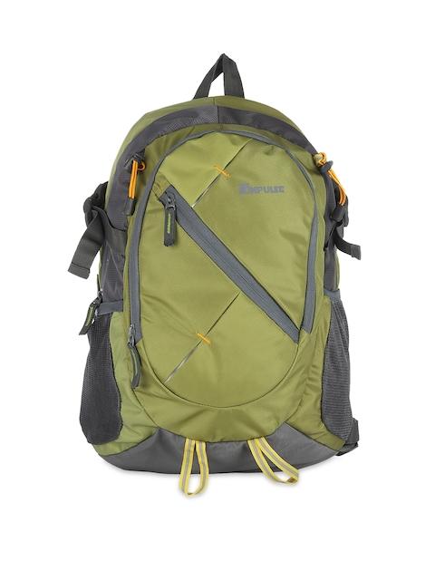 Impulse Unisex Green Backpack