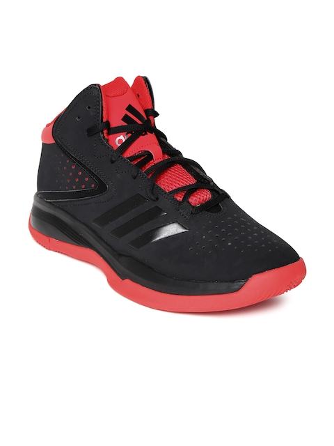 Adidas Men Black Cross Em 4 Basketball Shoes