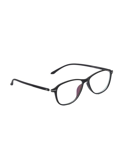 VAST Unisex Black Solid Full Rim Square Frames 5090