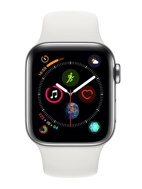 Apple Unisex Black Series 4 GPS + Cellular Smart Watch MTVJ2HN/A