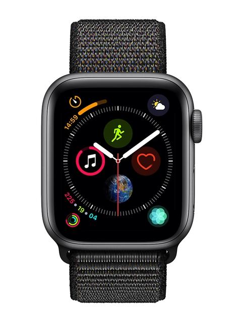 Apple Unisex Black Series 4 Smart Watch MTVF2HN/A