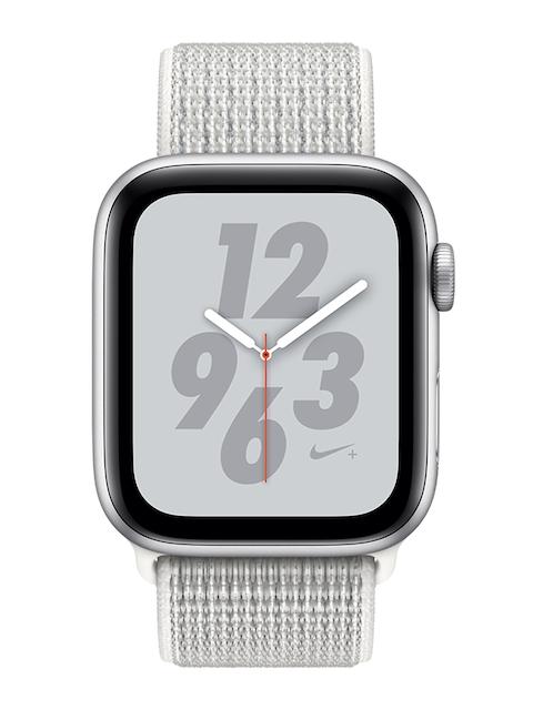 Apple Unisex Silver Nike+ Series4 GPS Smart Watch MU7H2HN