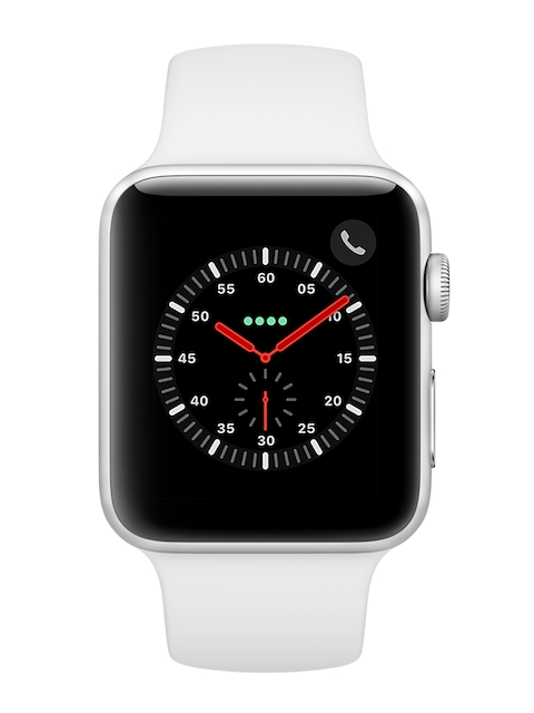 Apple Unisex Silver Series 3 Smart Watch MTH12HN/A