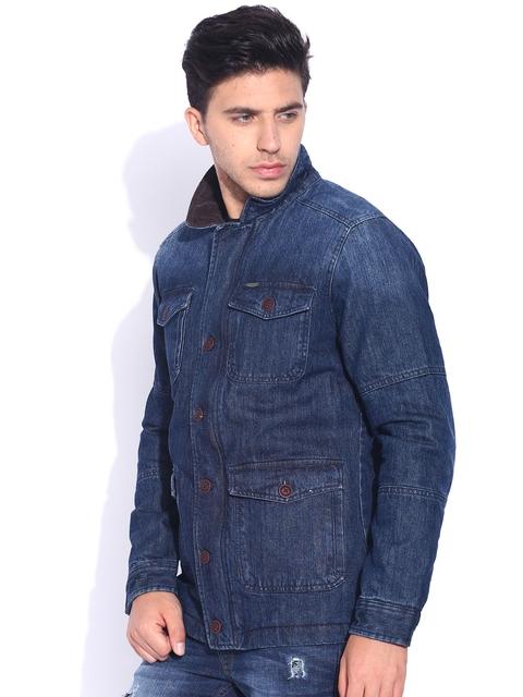 U.S. Polo Assn. Blue Washed Padded Denim Jacket