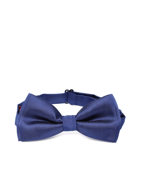 Peter England Men Blue Solid Bow Tie