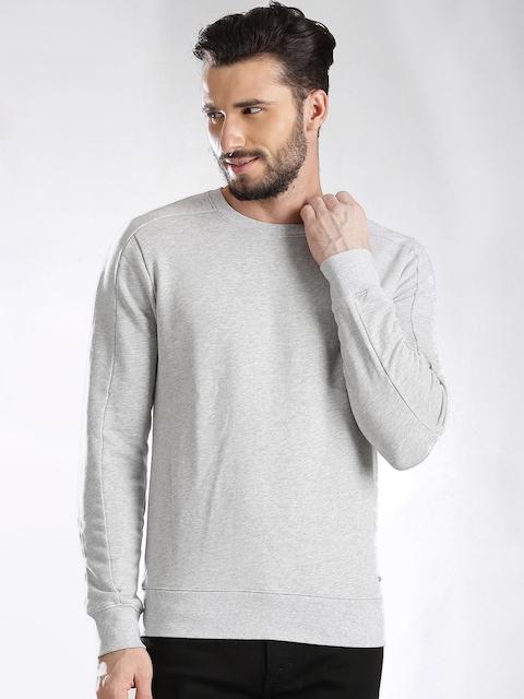 Calvin Klein Jeans Grey Melange Sweatshirt