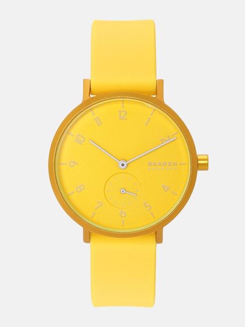 SKAGEN Women Yellow Analogue Watch SKW2820