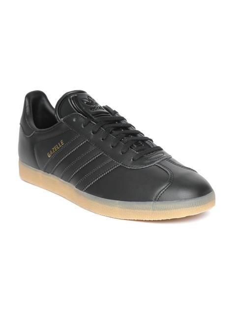 ADIDAS Originals Men Black Gazelle Casual Shoes