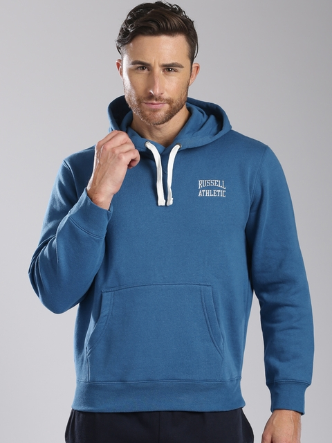 Russell Athletic Blue A5-046-2 Hooded Sweatshirt