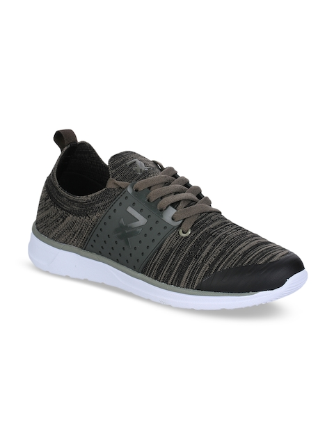 Liberty Men Olive Green Running Shoes