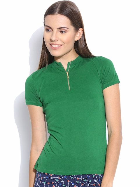 United Colors of Benetton Green Top