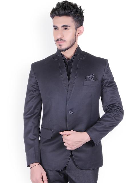 Shaftesbury London Black Regular Fit Formal Blazer