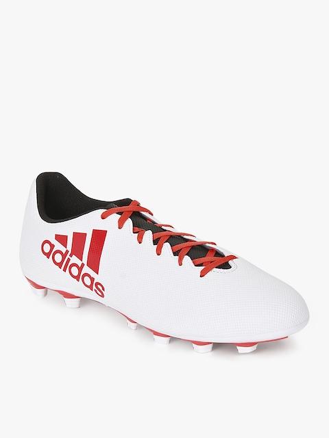 X 17.4 Fxg White Football Shoes