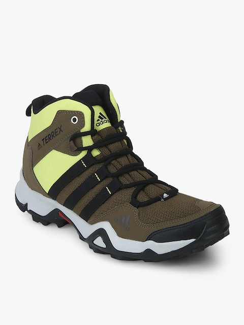 Path Cross Mid Khaki Outdoor Shoes