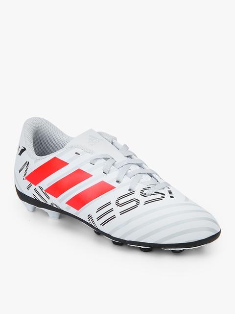 Nemeziz Messi 17.4 Fxg White Football Shoes