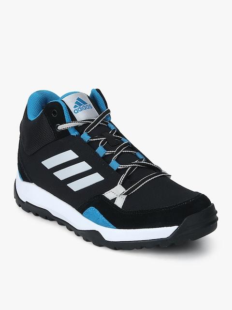 Hampta Black Outdoor Shoes