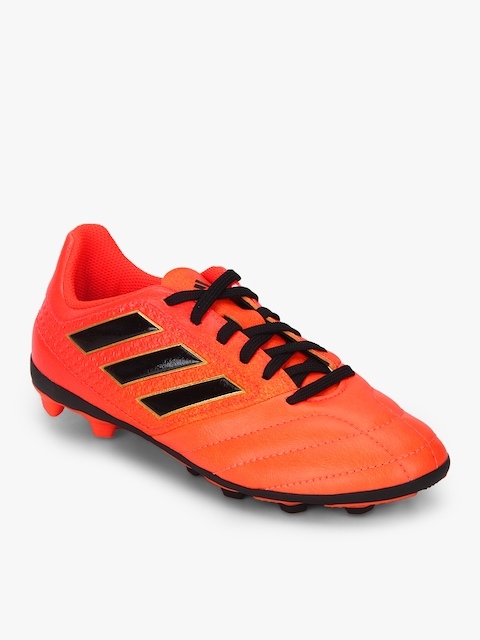 Ace 17.4 Fxg J Orange Football Shoes