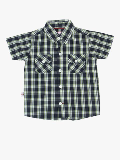 Black Regular Fit Casual Shirt