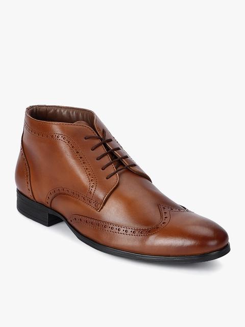 Tan Derbys Boots