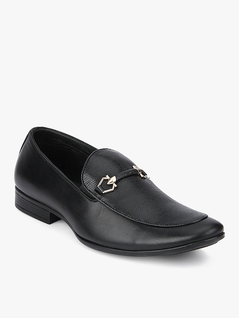 Black Slip-On Formal Shoes