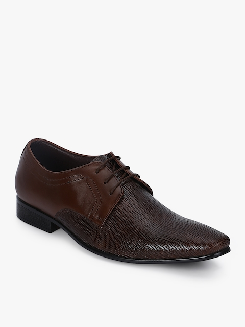 Brown Derbys Formal Shoes