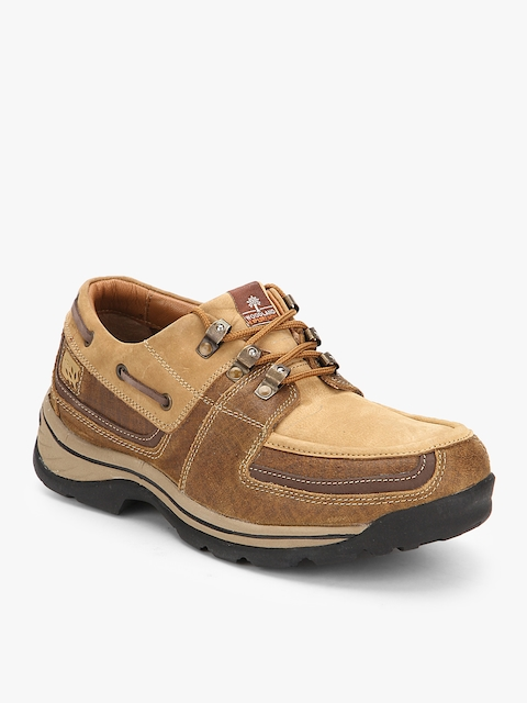 Camel Brown Trekking Shoes Casual Shoes