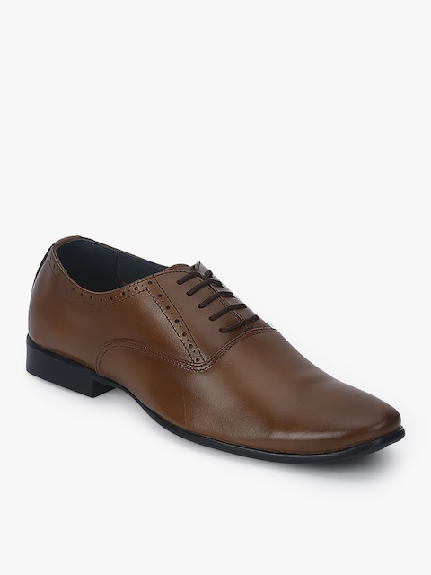 Tan Oxfords Formal Shoes