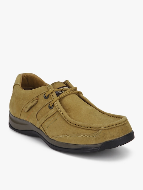 Woodland Camel Brown Lifestyle Shoes