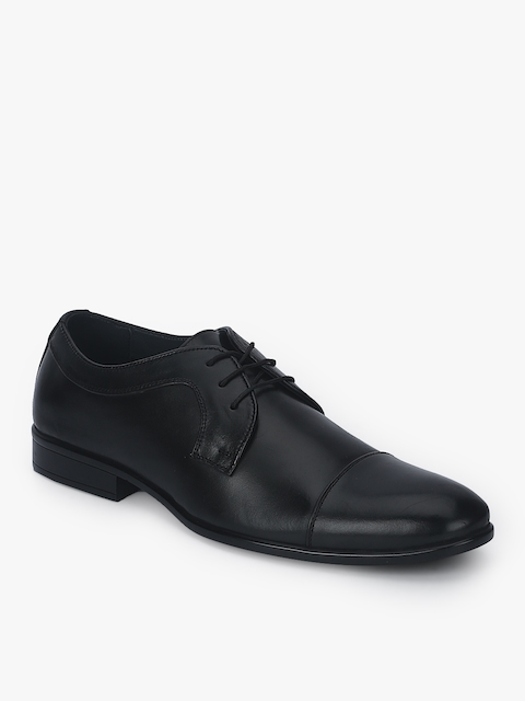 Black Derbys Formal Shoes
