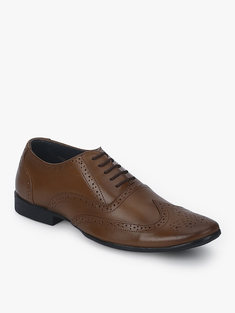 Tan Brogues Formal Shoes