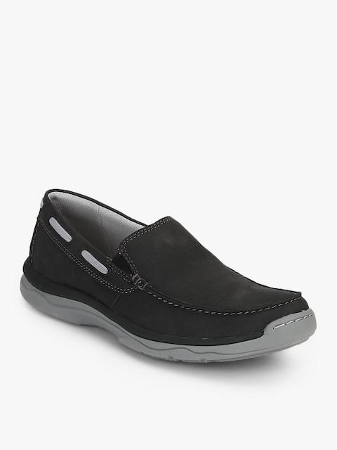 Marus Sail Black Loafers