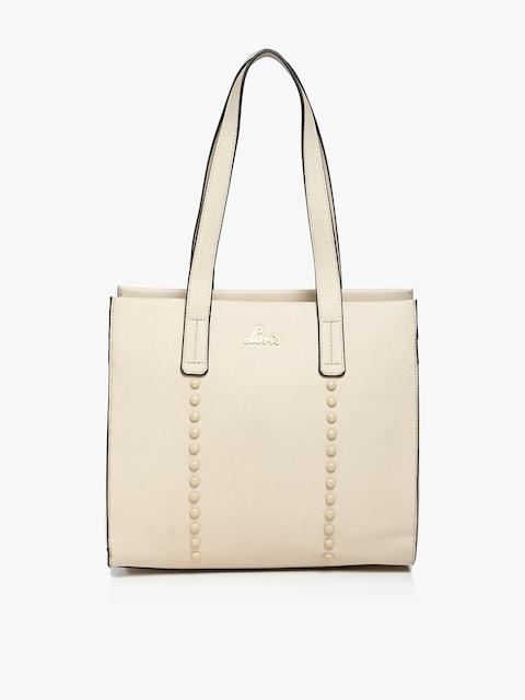 Myst Large Beige Handbag