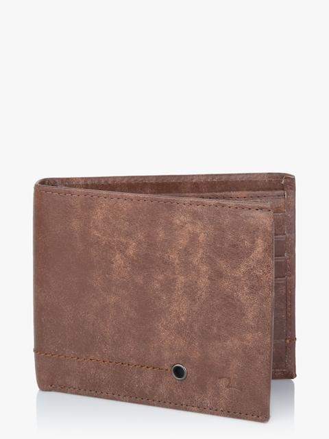 Cognac Leather Wallet