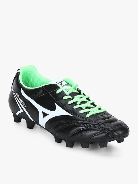 Monarcida Md Black Football Shoes