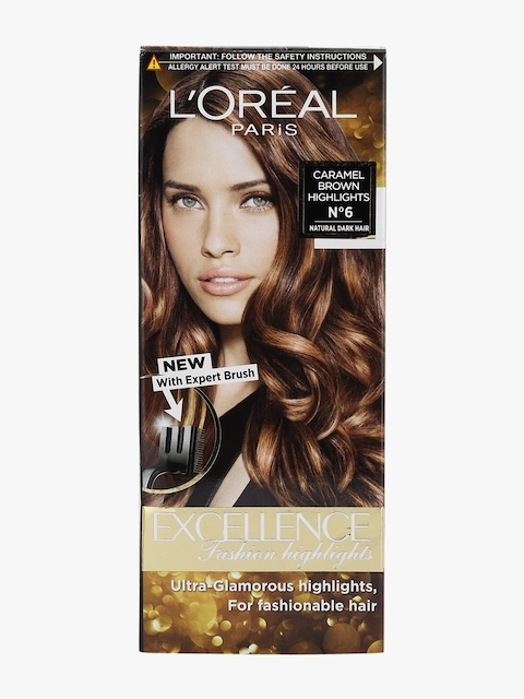 Excellence Fashion Highlights Hair Color, Caramel Brown