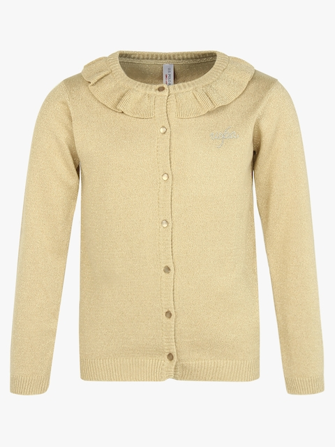 Gold Solid Sweater