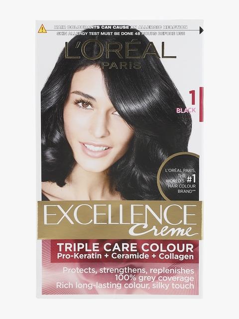 LOreal Paris Excellence Hair Color Shade No 1 Black